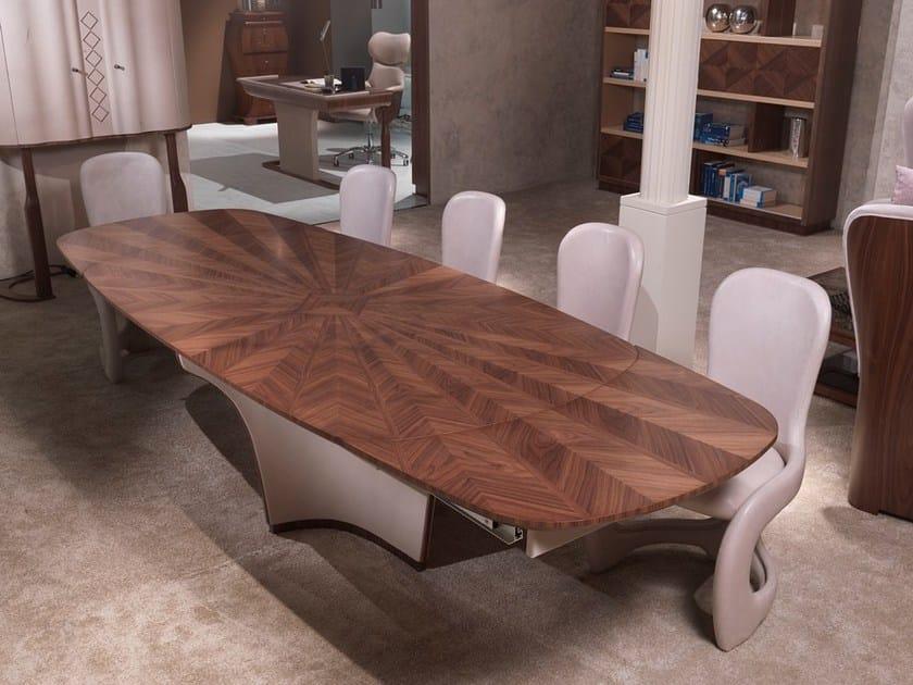 Tavolo da salotto in legno desyo tavolo allungabile for Tavolo da salotto allungabile