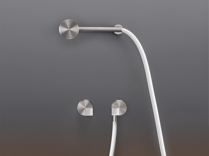 Wall mounted mixer set for bath/shower with hand shower DET 33Y by Ceadesign