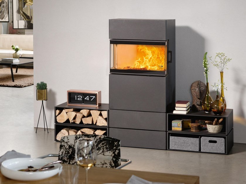 Wood-burning stove DEXTER S3 by Austroflamm