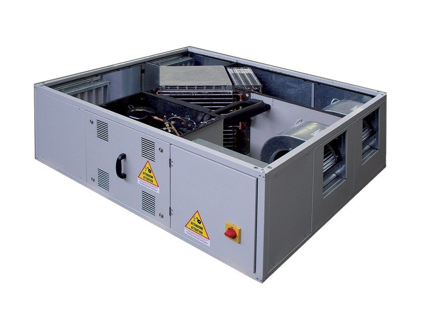 Industrial Heat recovery unit DFT/R PLUS by ALDES