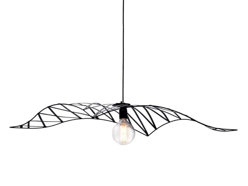 Metal pendant lamp DIAGONAL SHED by Adriani e Rossi edizioni