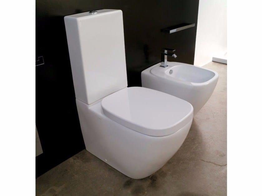 Close coupled ceramic toilet DIAL | Close coupled toilet by Hidra Ceramica