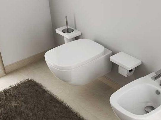 Ceramic toilet DIAL | Wall-hung toilet by Hidra Ceramica