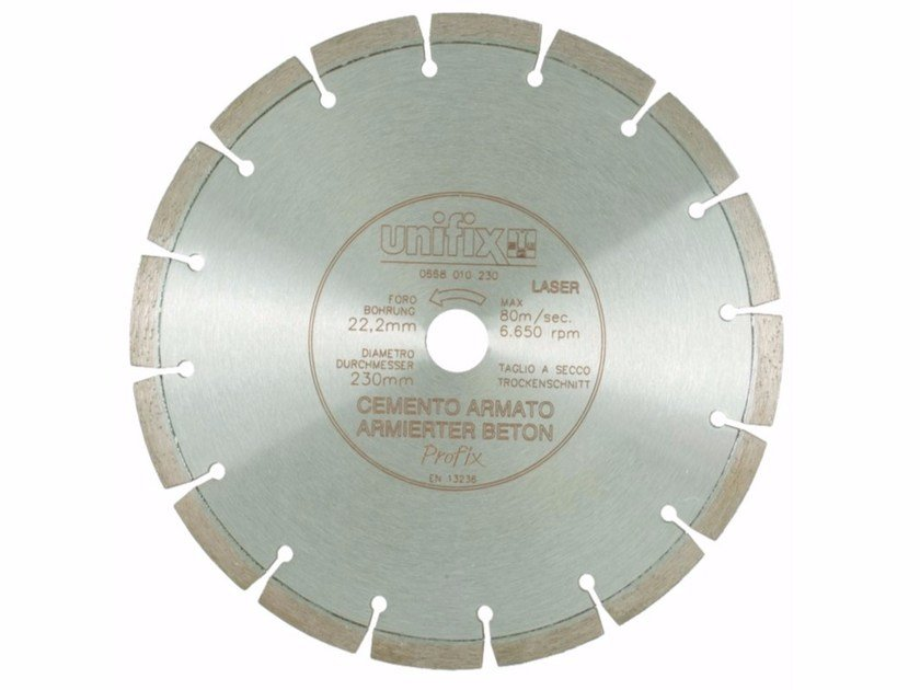 Diamond-coated Cutting Disc DIAMANT LASER by Unifix SWG