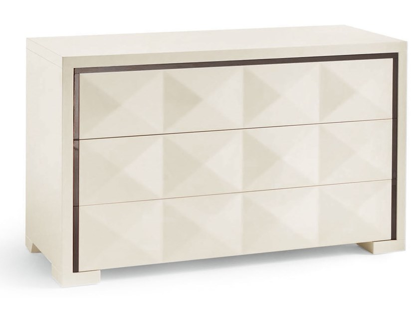 Wooden chest of drawers DIAMANTE | Chest of drawers by Cantori