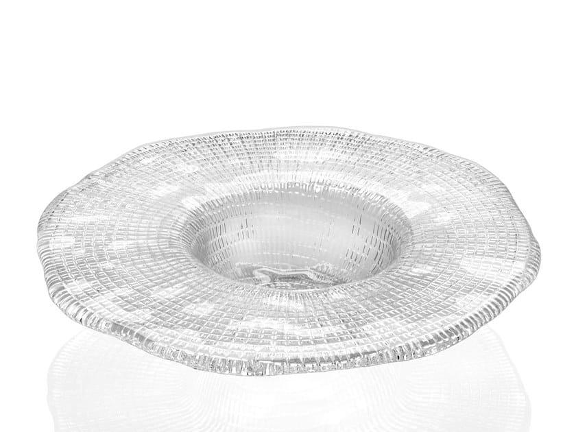 Glass deep plate DIAMANTE' | Deep plate by IVV