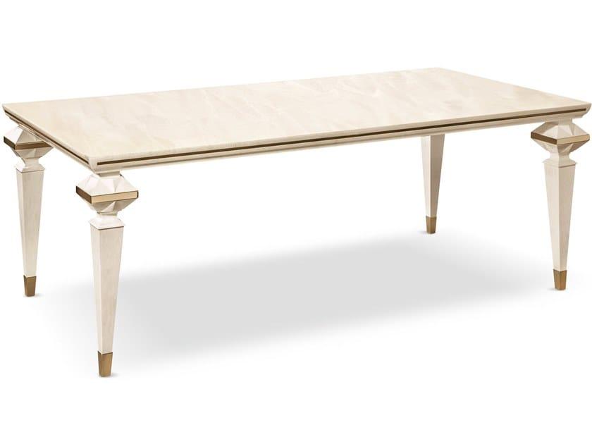 Rectangular wooden table DIAMANTE | Table by Cantori