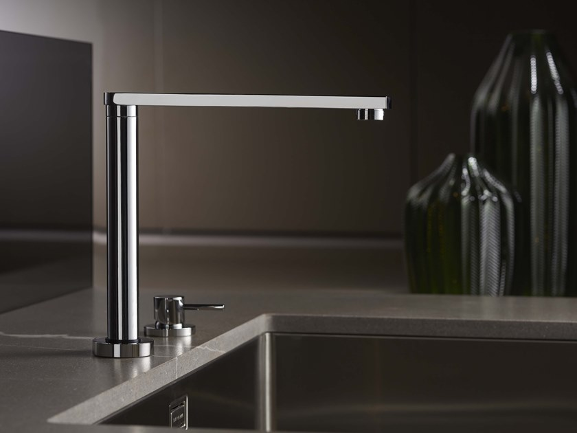 DIAMETRO35 CUCINA | 2 hole kitchen mixer tap By RITMONIO