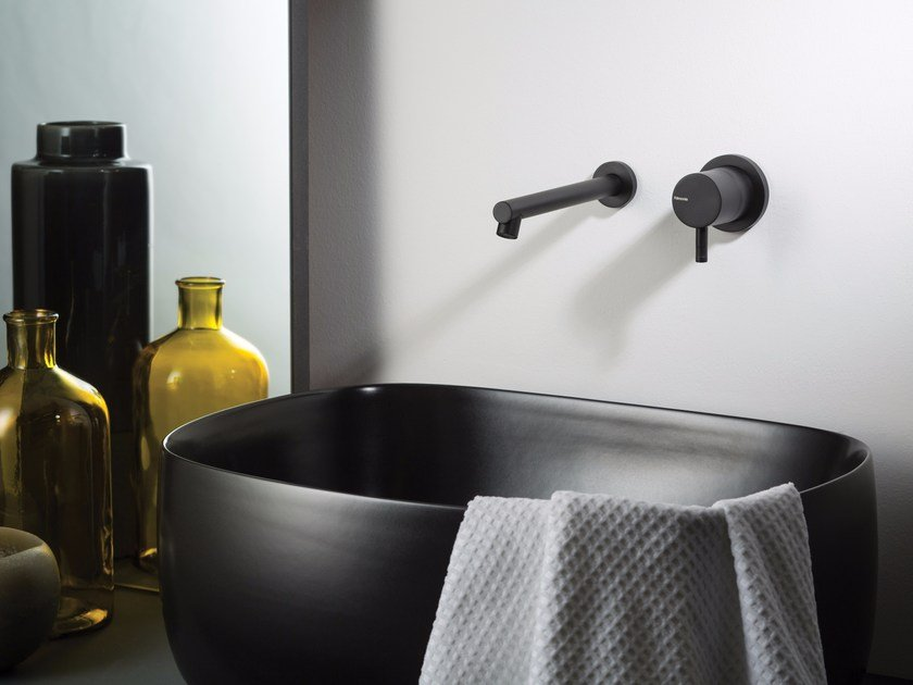 Wall-mounted washbasin mixer DIAMETRO35 | 2 hole washbasin tap by RITMONIO