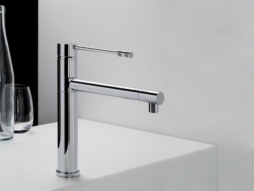 Single handle metal kitchen mixer tap DIAMETROTRENTACINQUE   Kitchen mixer tap by RITMONIO