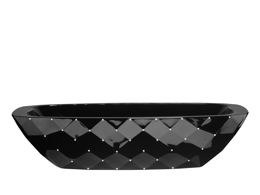 Freestanding oval bathtub DIAMOND | Bathtub by AQUAdesign