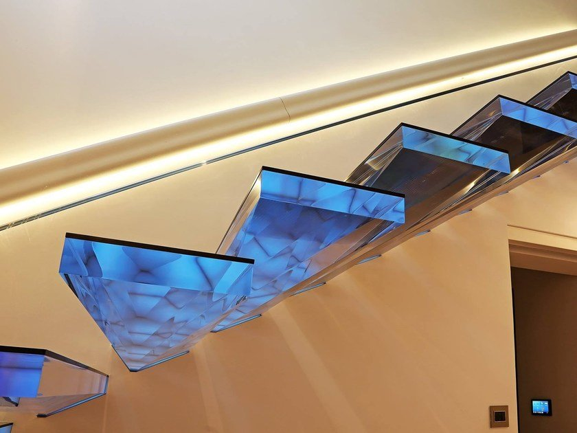 Straight Cantilevered Staircase DIAMOND | Cantilevered Staircase By Siller  Treppen