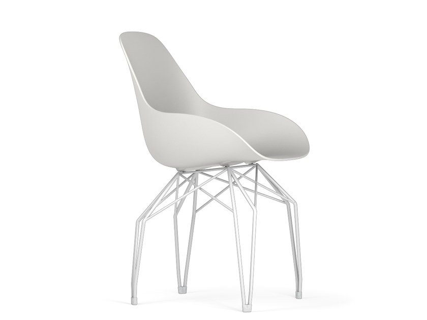 Polypropylene chair DIAMOND DIMPLE CLOSED | Chair by KUBIKOFF