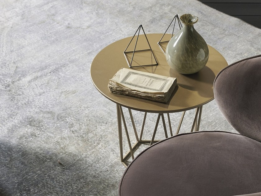 Lacquered round coffee table DIAMOND by EmmeBi