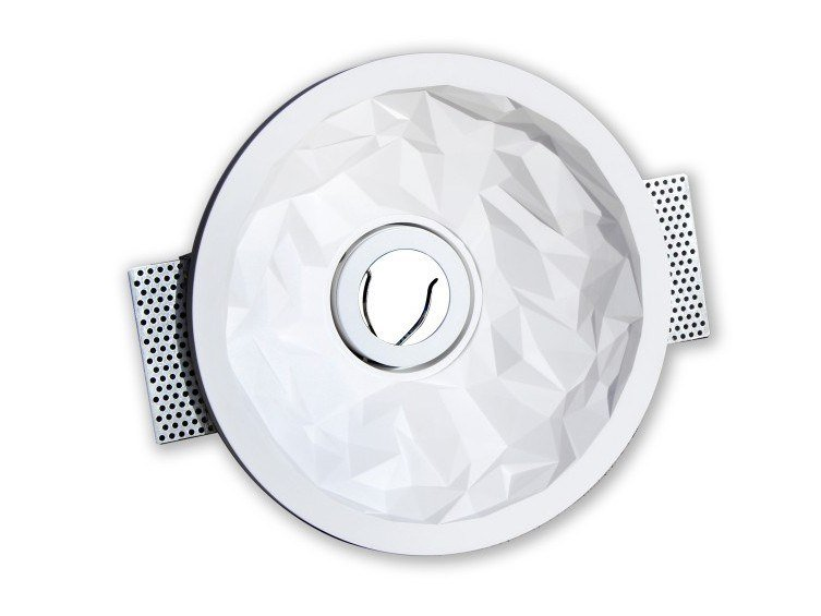 Built-in ceiling plaster Spotlight fixture DIAMOND by GESSO