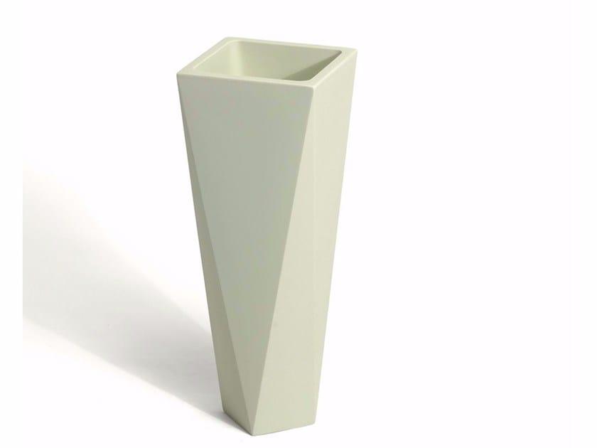 Vaso in polietilene DIAMOND by Plust