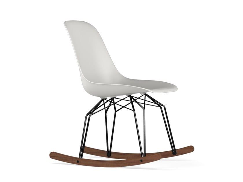 Rocking polypropylene chair DIAMOND ROCKING V9 | Chair by KUBIKOFF