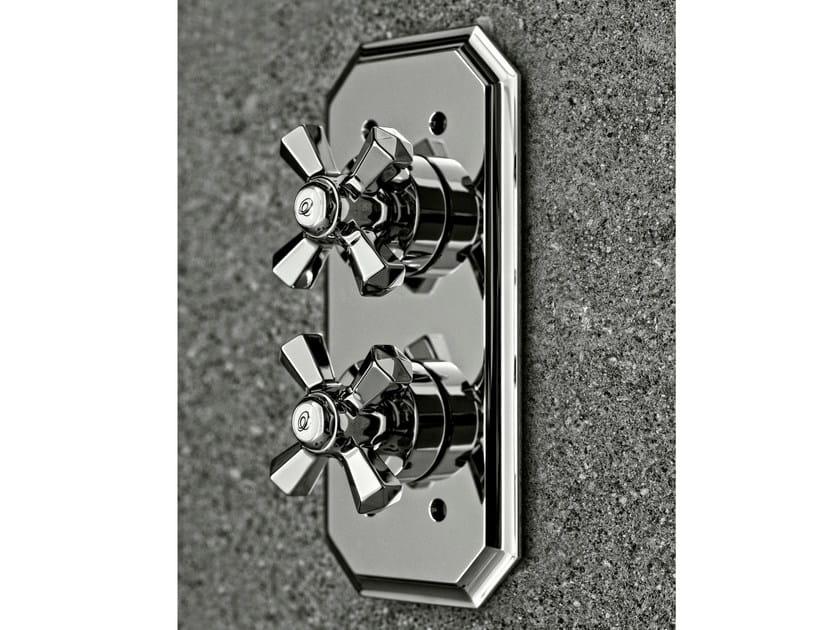 2 hole thermostatic shower mixer DIAMOND | Thermostatic shower mixer by Signorini