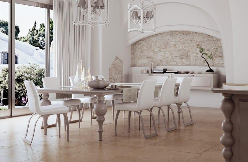 Lackierte einbauküche aus holz diamond by scic design leo dainelli