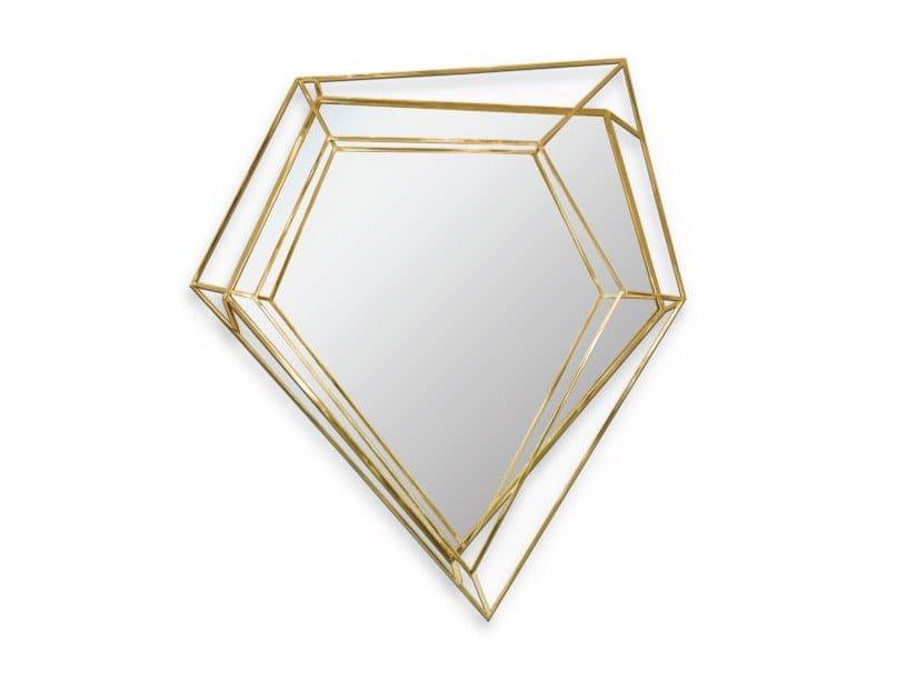 Wall-mounted mirror DIAMOND SMALL   Mirror by Delightfull