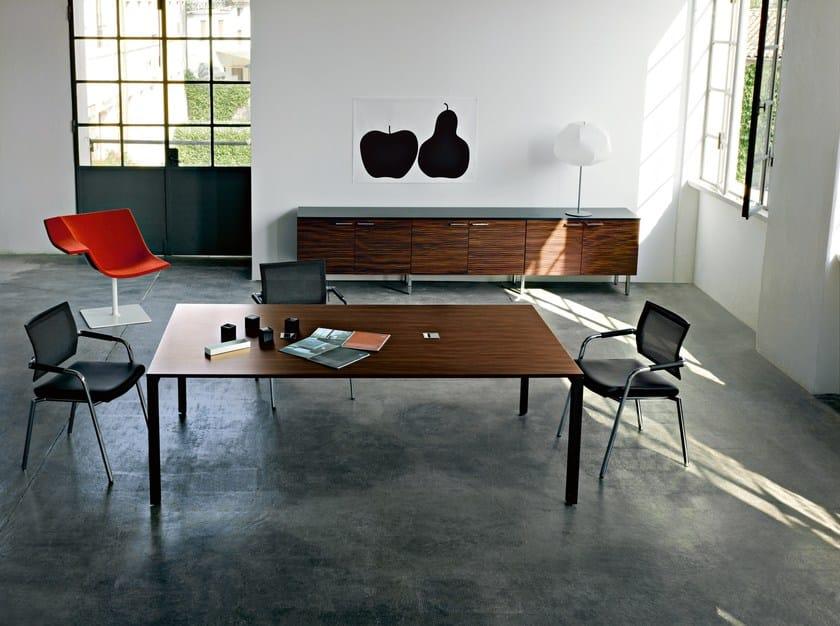 Rectangular meeting table DIAMOND MEETING by Sinetica