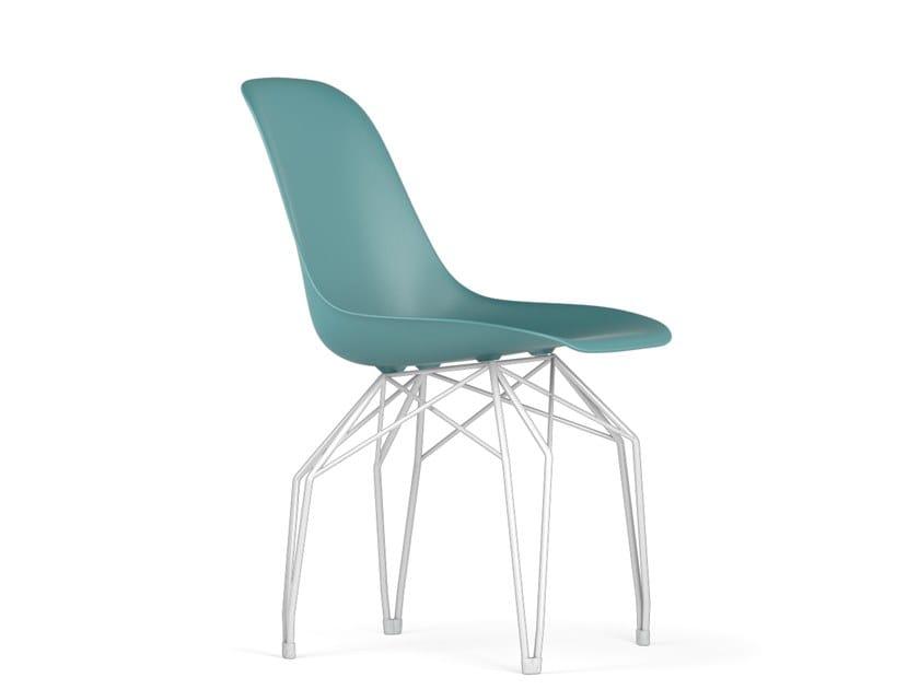 Polypropylene chair DIAMOND V9 | Polypropylene chair by KUBIKOFF
