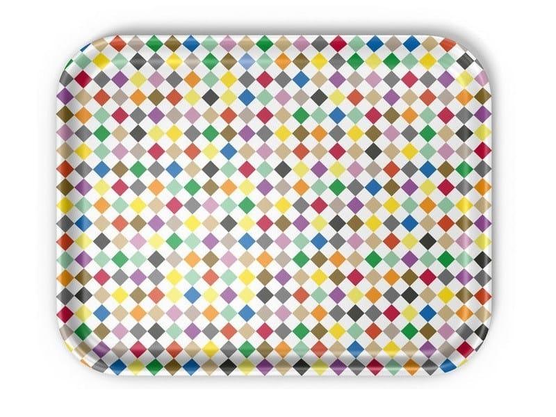 Laminate tray DIAMONDS MULTICOLOUR by Vitra