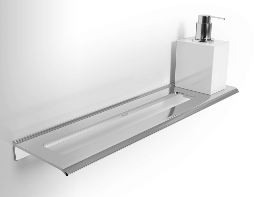 Metal bathroom wall shelf DIANTHA | Bathroom wall shelf by Alna