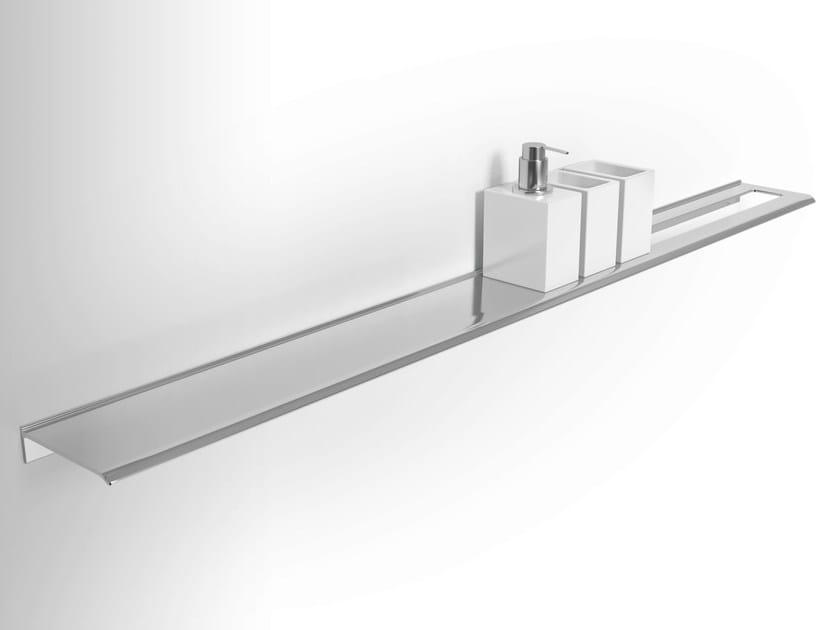 Wall-mounted metal bathroom wall shelf DIANTHA | Bathroom wall shelf by Alna