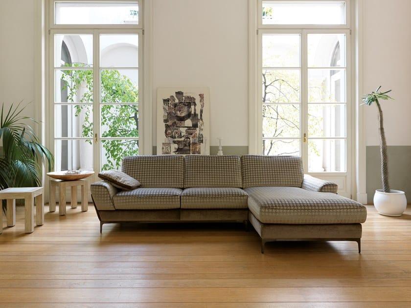 Corner fabric sofa DIDEROT | Corner sofa by Borzalino