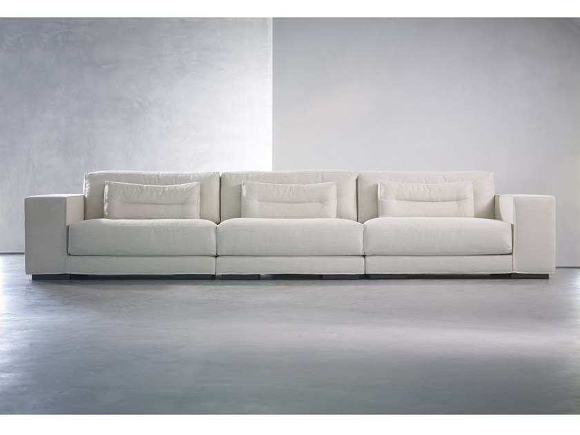 Sectional 3 seater fabric sofa DIEKE LIVING | 3 seater sofa by Piet Boon