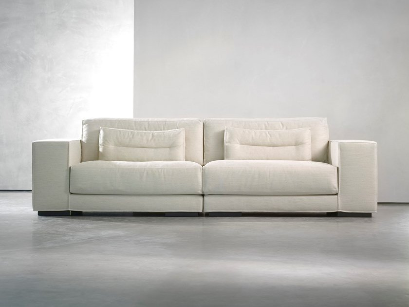 Sectional 2 seater fabric sofa DIEKE LIVING | 2 seater sofa by Piet Boon