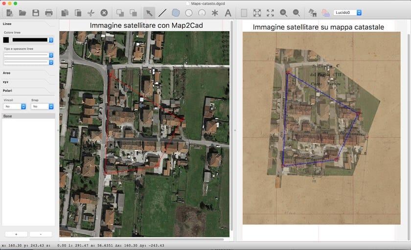 DigiCad 3D 10 Collegamento con GoogleMaps