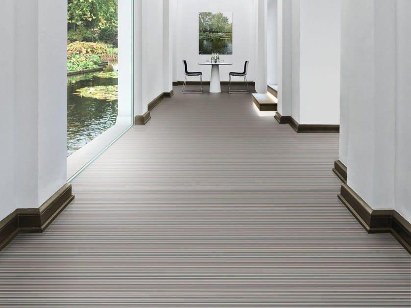 Ecological synthetic material flooring DIGITAL CODE by Vorwerk Teppichwerke