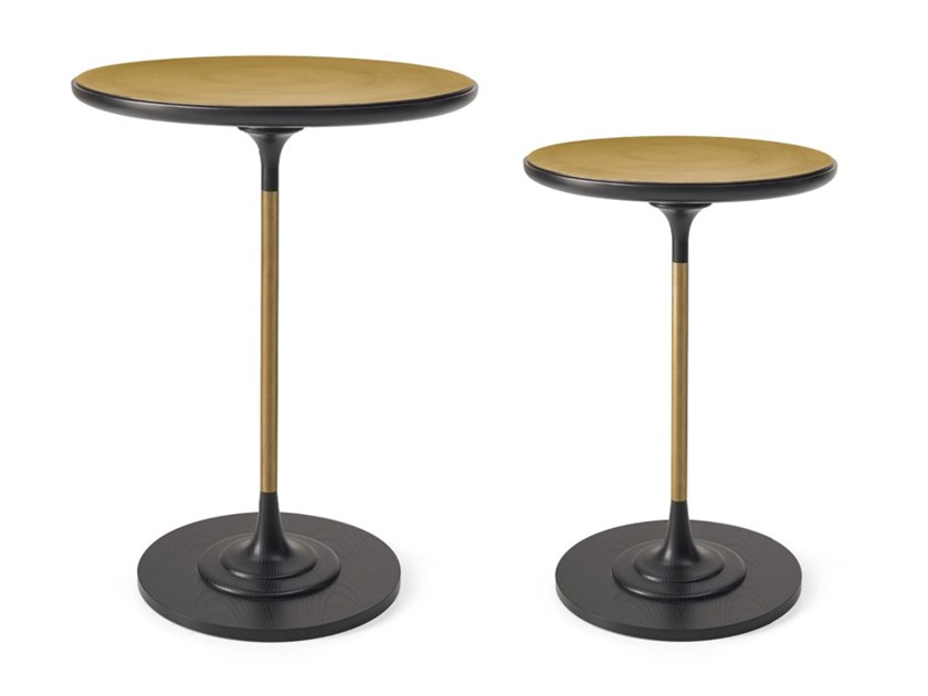 Round high side table DILAN   High side table by A.R. Arredamenti
