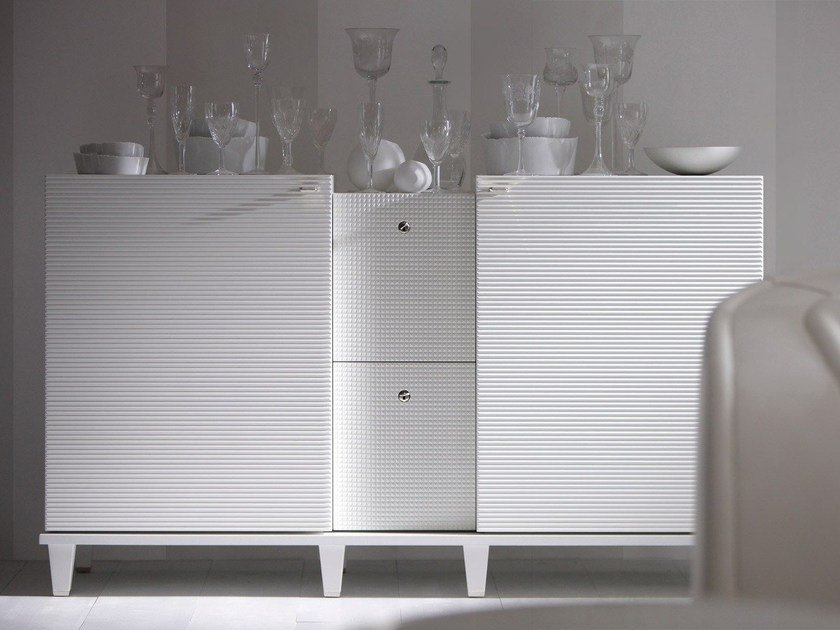 Wooden sideboard with doors DIMITRI | Sideboard by OPERA CONTEMPORARY