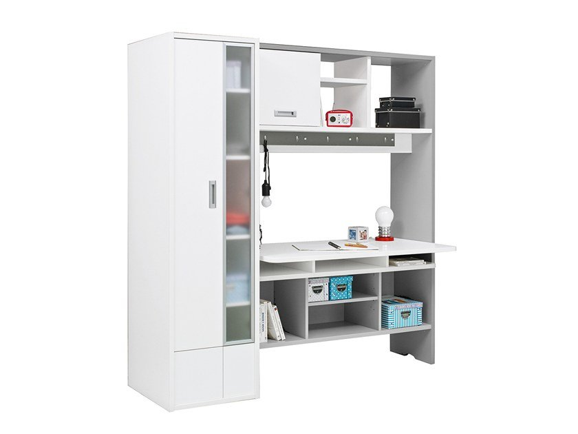 Divider kids bookcase with secretary desk DIMIX | Divider kids bookcase by GAUTIER FRANCE