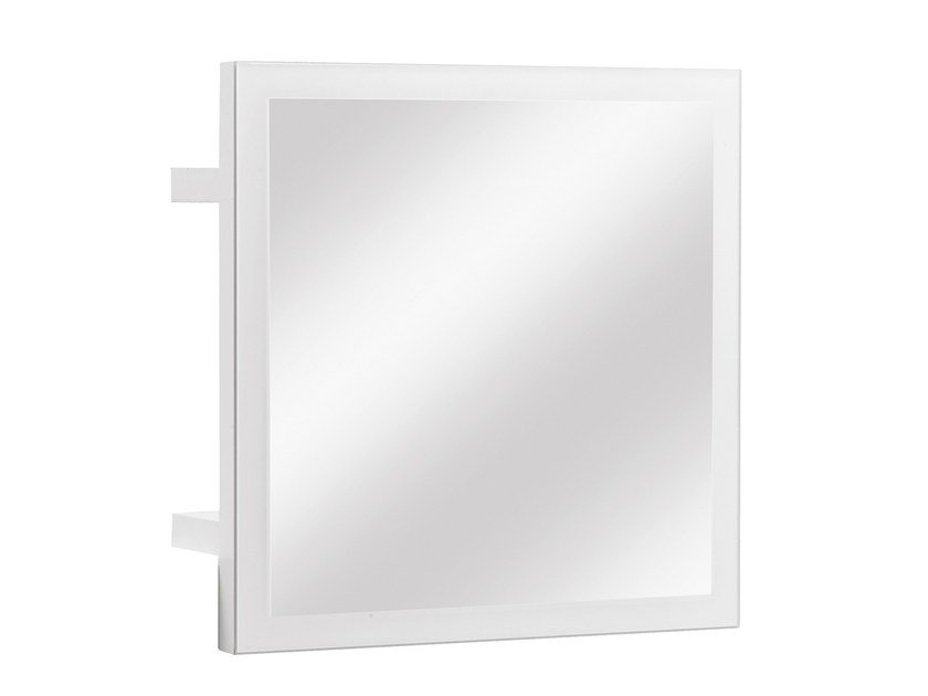 Square wall-mounted mirror DIMIX | Mirror by GAUTIER FRANCE