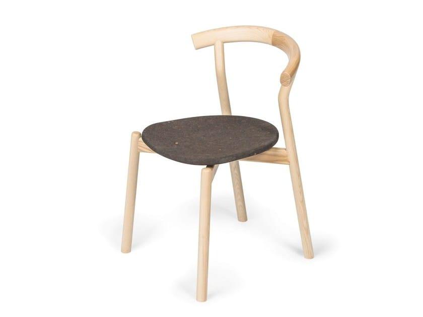 Ash chair DINA by DAM
