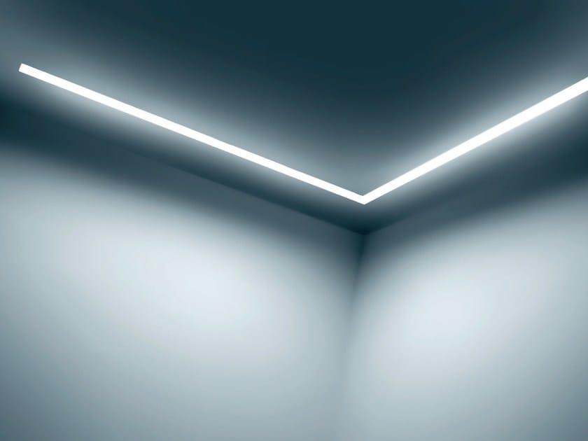 Aluminium Linear lighting profile for LED modules DINAMICA RASATO   Linear lighting profile by PLEXIFORM