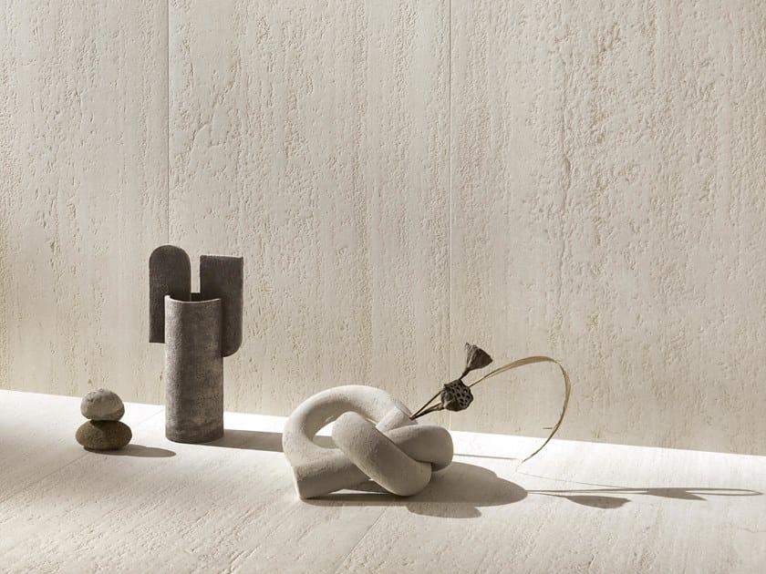 Pavimento/rivestimento in gres porcellanato effetto pietra DINAMIKA by CERAMICA DEL CONCA