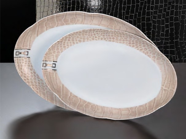 Porcelain plates set DINING A'ROUND | Plates set by Formitalia