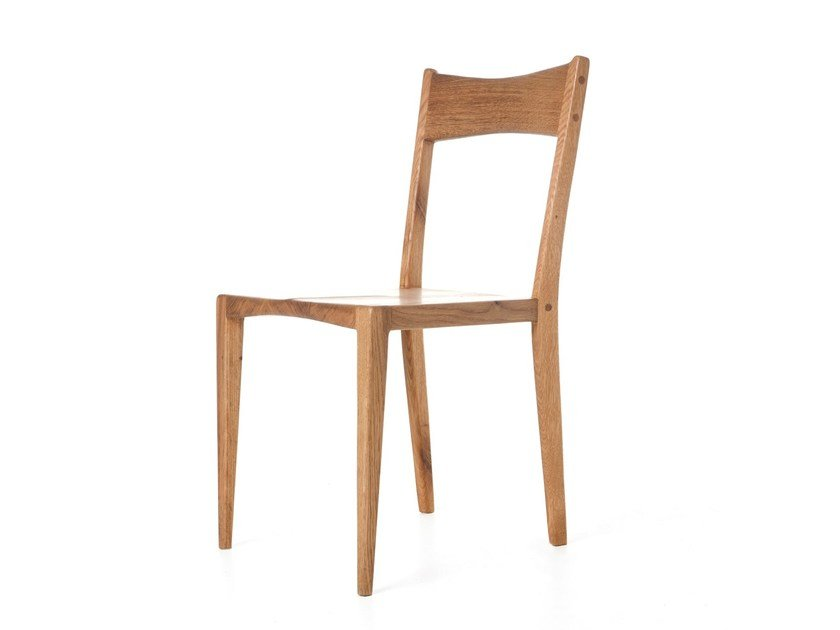 Solid wood chair DINING CHAIR I by AGUSTAV