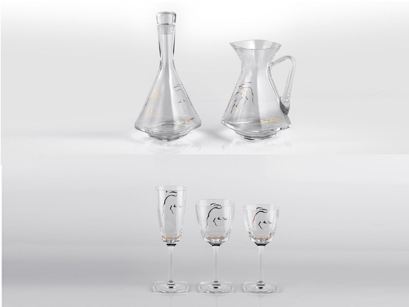 Set crystal glasses CRYSTAL | Set glass by Tonino Lamborghini Casa