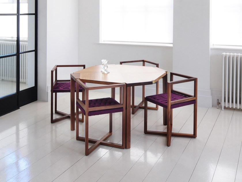 Solid wood dining table DINING TABLE | Wooden table by Efasma