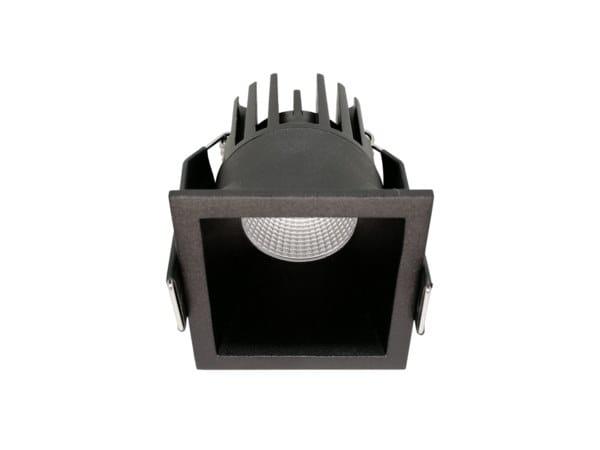 LED square recessed aluminium spotlight DIP C by LED BCN
