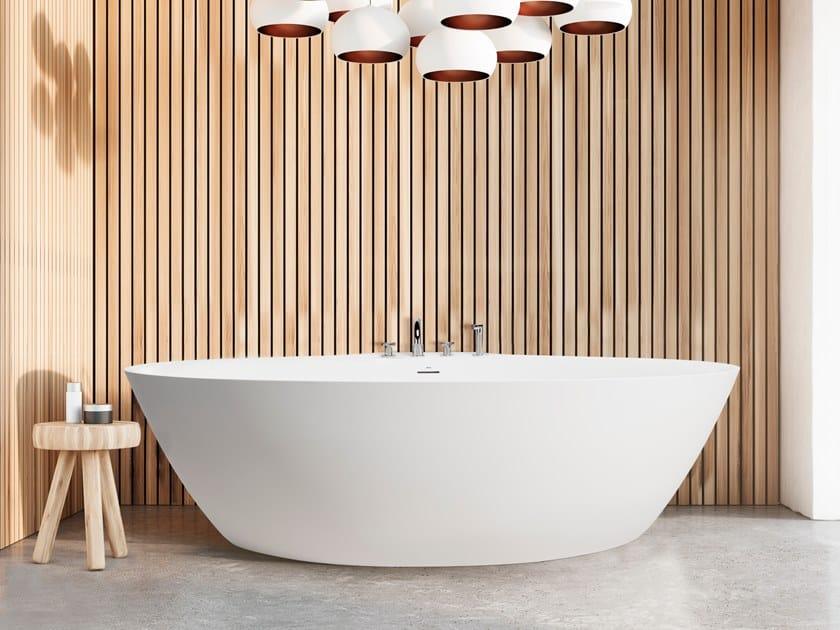 Oval Cristalplant® bathtub DIP TOO | Bathtub by AQUAdesign