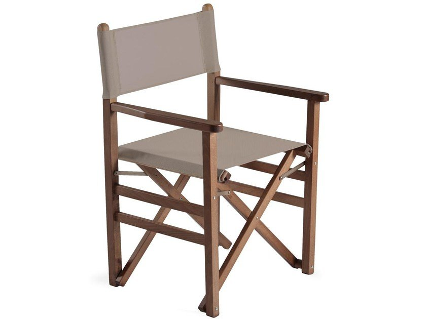 Garden chair with armrests DIRECTOR by FIAM