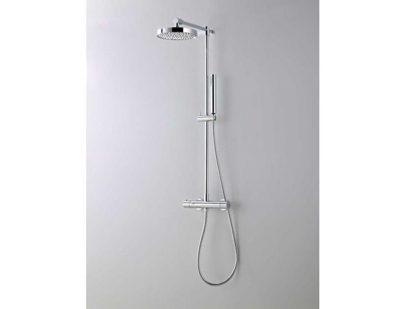 Colonna doccia termostatica con doccetta diretta by systempool