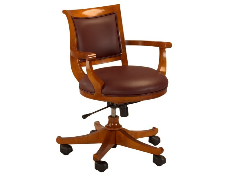 Executive chair with 5-spoke base with casters DIRETTORIO | Executive chair by Morelato
